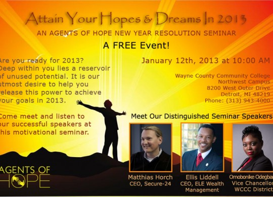 GALLERY: Attain Your Hopes and Dreams Seminar